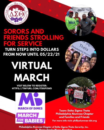 March of Dimes official P&MH Virtual Walk